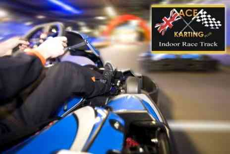 Ace Karting Plus - 50 Lap Race For Two - Save 55%