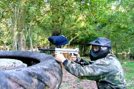 Project Paintball - Paintballing With Lunch and 100 Paintballs - Save 85%