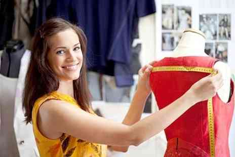London Textiles Studio - One Day Dress Making Course For Beginners for One - Save 67%