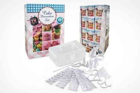 The Sharper Edge - 100 Piece Cake Decorating Set - Save 43%