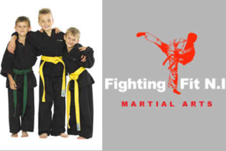Fighting Fit NI - One Week Kids Multiple Martial Arts Summer Camp - Save 53%