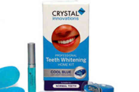 Crystal Innovations - £20 instead of £79.99 for a home teeth whitening kit - Save 75%