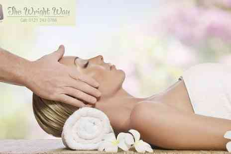 The Wright Way - Spa Day with Hot Stone Massage and Dermalogica Facial - Save 50%