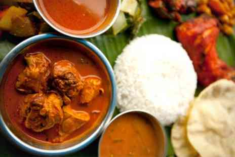 Spicy Kalkata Club - Two Course Indian Meal With Wine For Two - Save 55%