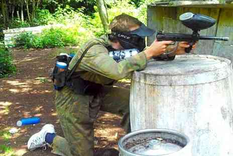 Unreal Paintball - Full Day and Lunch For Two - Save 85%