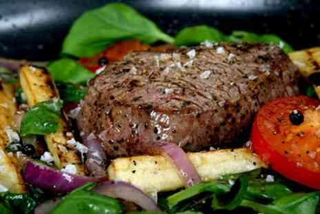 17 Air Street - Steak and Wine For Two People - Save 54%
