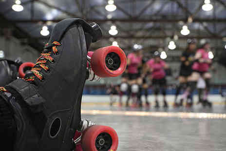 Roller City - Roller Skating with Roller Skate Hire and Membership for One - Save 53%