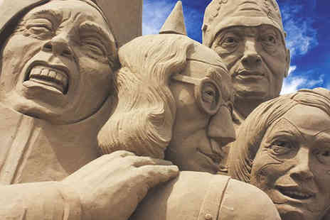 Brighton Sand Sculpture Festival - Two Adult Tickets - Save 53%