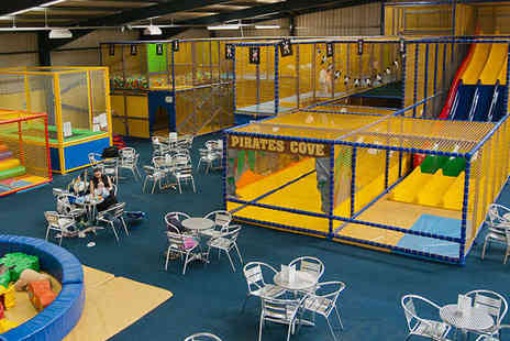 Pirates Cove - Five Soft Play Passes and Five Slush Drinks - Save 65%