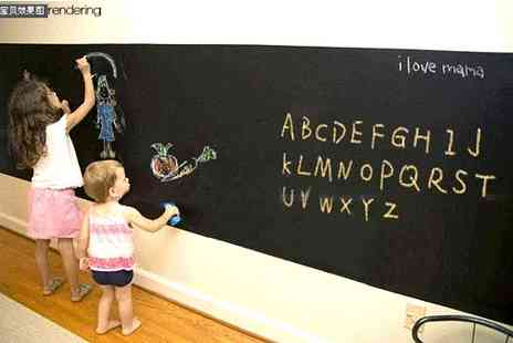 Merchtopia - Keep your world in order Self adhesive chalkboard - Save 50%