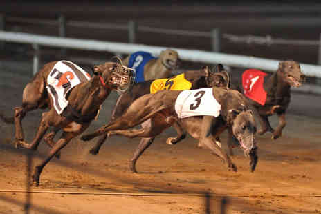 Coventry Dogs - Night of greyhound racing for 2 people  - Save 63%