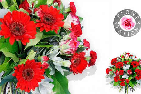 Flower Station - Make a special someone smile today with this Choice of 4 Bouquet - Save 50%