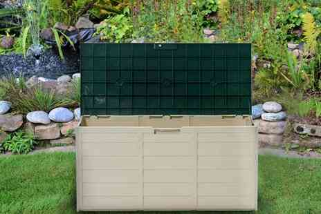 Better Bargains - Large garden storage box  - Save 44%