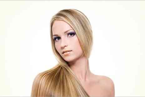 Inspired Hair Salon - Half head of highlights or full head of colour with a cut  - Save 62%