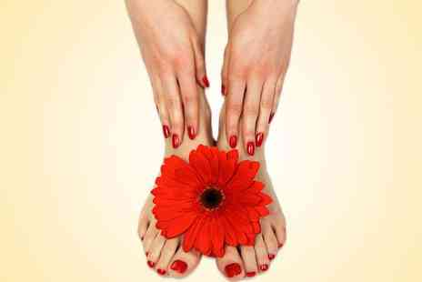 Touch Spa - OPI manicure and pedicure - Save 50%
