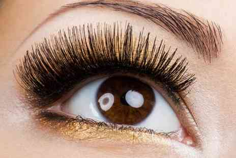 Allure Academy and Spa - 3D semi permanent eyelashes and an eyebrow wax - Save 76%