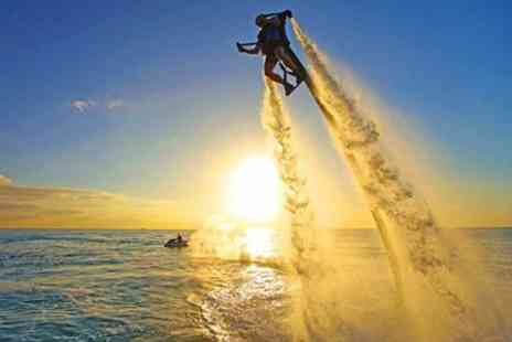 Jetlev Flyer - Water Jet Packing - Save 34%