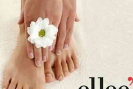 Ellees Hair Design - Manicure and Pedicure - Save 62%