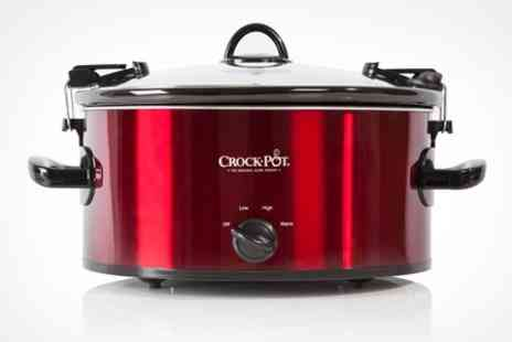 Deluxe Home Brands - 5.7 Litre Cook and Carry Slow Cooker - Save 50%