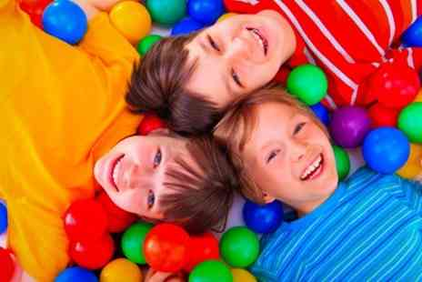 Tots Landing - Family Entry to Soft Play With Drink Each - Save 52%