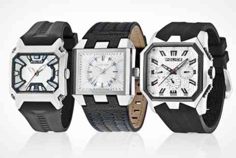 Shushstore.com - Mens Police Watch with a Choice of Designs - Save 56%