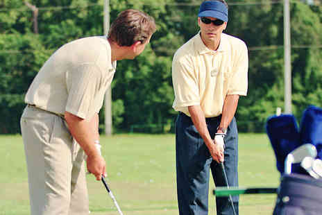 The Chase Golf - One Hour Golfing Lesson - Save 53%