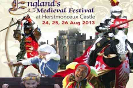 Englands Medieval Festival - A Great Day Out for August Bank Holiday Weekend  2 Adult Tickets - Save 38%
