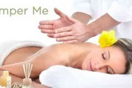 Pamper Me - Pamper Package With Full Body Massage and Facial Plus Mani & Pedi For Two - Save 65%