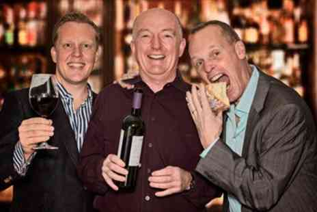 Three Wine Men - Wine Tasting with TV Connoisseurs - Save 40%