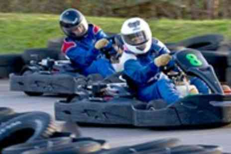 West Country Karting - 80 Laps of Outdoor Go Karting - Save 72%