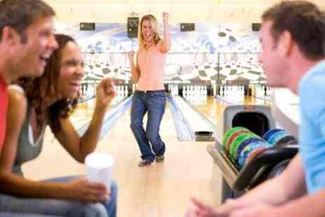 Cinebowl - Ten Pin Bowling and Ice Skating With Shoe and Skate Hire - Save 50%