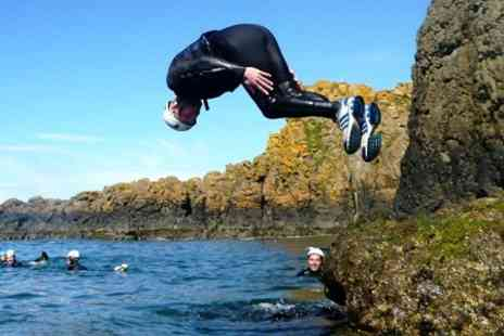 Coasteering NI - Rock Scrambling and Cliff Jumping - Save 46%