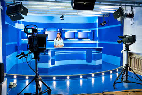 The Presenter Studio - Five hour Television Presenter Workshop - Save 75%
