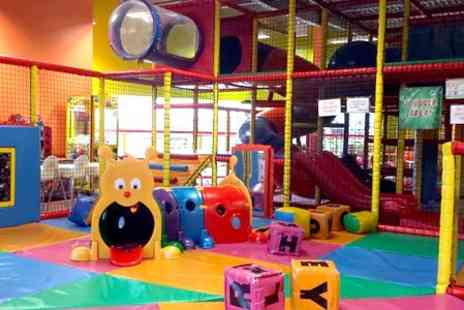 Scallywags Indoor Play centre - Childrens Soft Play Entry With Snack and Drink - Save 40%