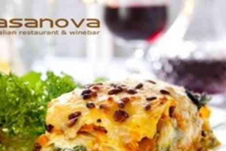 Casanova Ristorante - Two Course Italian Meal For Two - Save 60%