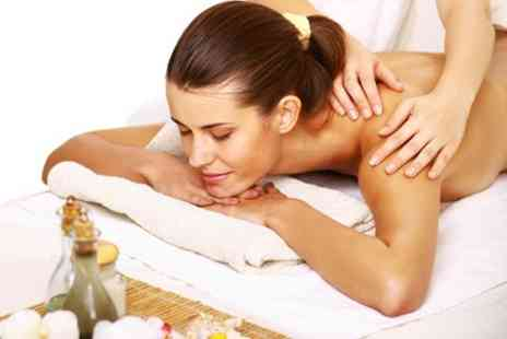 Platinum Hair and Beauty - Full Body Massage Plus Gelux Manicure - Save 46%