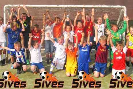5ives Barnsley - Childrens Football Party - Save 51%