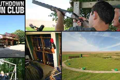 Southdown Gun Club - Clay Pigeon Shooting for 2 - Save 75%