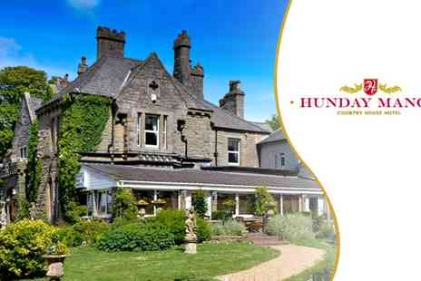 Hunday Manor Country House - In Cumbria One Night Hotel Break for Two - Save 47%