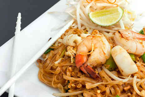 Thai Erawan - Two Course Meal for Two People - Save 56%
