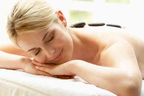 The Hills Health and Beauty - Hour Long Hot Stone or Warm Bamboo Massage - Save 57%