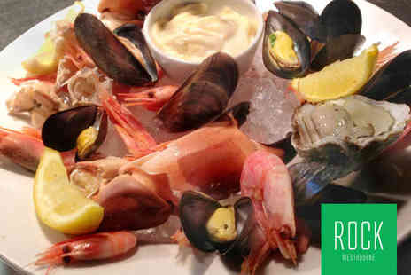 ROCK Restaurant - British Shellfish Platter Each with Crusty Bread Chips for Two  - Save 54%