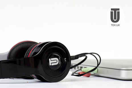 Tek UK - Listen  Bluetooth sd card headphones and FM Radio - Save 58%