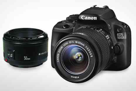 ASK Direct - Canon EOS 100D With Twin Lenses - Save 28%