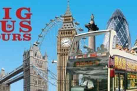 Big Bus Tours - Hop On, Hop Off Bus Tour of London With Thames River Cruise Option For Two - Save 52%