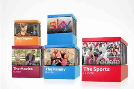 BSkyB - Twelve Month Packages - Save 50%