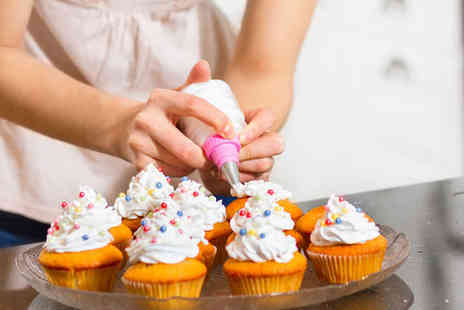 Angel Cakes - Cupcake Decorating Class with Afternoon Tea for One - Save 69%