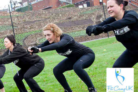 Fit Camp UK - 10 Fitness Bootcamp Sessions - Save 82%