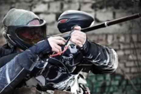 Black Ops Indoor Paintball - Two Hours Indoor Paintballing With 100 Balls and Refreshments - Save 60%