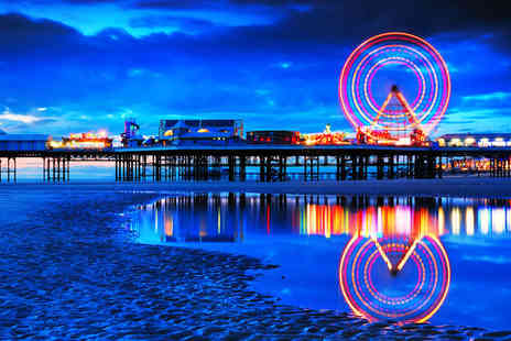 Henson Hotel - Two Night Blackpool break for 2 including breakfast 3 course meal and cabaret performance - Save 43%